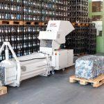 Máquina Industrial para reciclagem de Garrafa PET H. Schwelling PET CP 4988