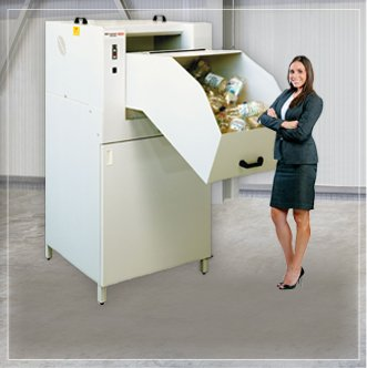 Máquina Industrial para reciclagem de Garrafa PET H. Schwelling PET Crusher 1049 SA