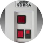 Fragmentadora Kobra 260 HS – Uso Profissional corte Partículas – até 6 folhas – Cesto 85 litros