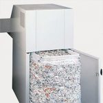 Fragmentadora de Papel Ideal 4107 – Tiras e Partículas – Cesto 300 litros – Uso Industrial