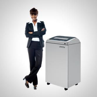Fragmentadora de Papel Kobra 310 TS – Tiras ou Partículas – Cesto 135 litros – Uso Profissional